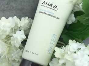 AHAVA Mineral Handcreme und die Kraft aus dem toten Meer