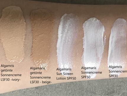 Mineralischer Sonneschutz Gesicht Teil 1/3 -  Algamaris