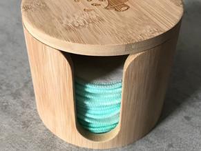 pandoo Abschminkpads waschbar und wiederverwendbar aus Bio-Baumwolle und Bambusviskose