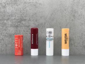Gepflegte Lippen zu jeder Jahreszeit, besonders aber im Winter - Alterra, i+m, Lavera und Weleda