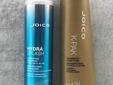 Kurzreview: HydraSplash und K-Pak - zwei Shampoo's von Joico