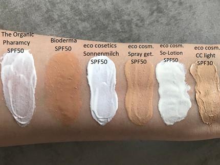 Mineralischer Sonnenschutz Gesicht Teil 3/3 - The Organic Pharmacy, Bioderma und Eco Cosmetics