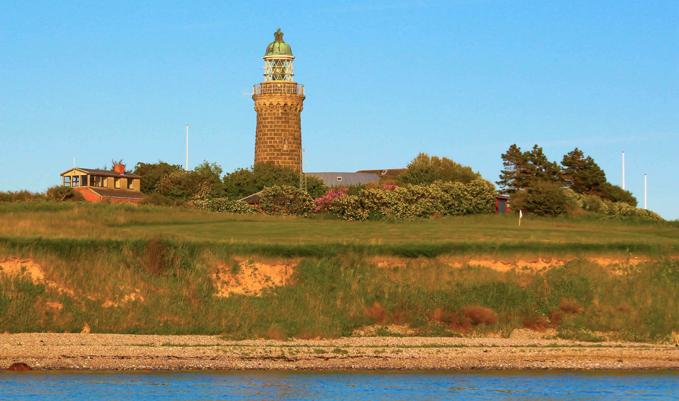 Biohof Aeroe - der Leuchtturm der Insel.
