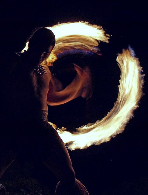 Wagner opera and the fire dancing Samoans
