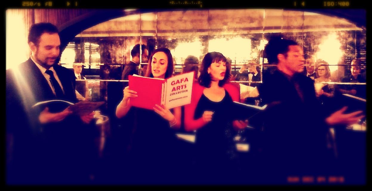 Carols at the Savoy