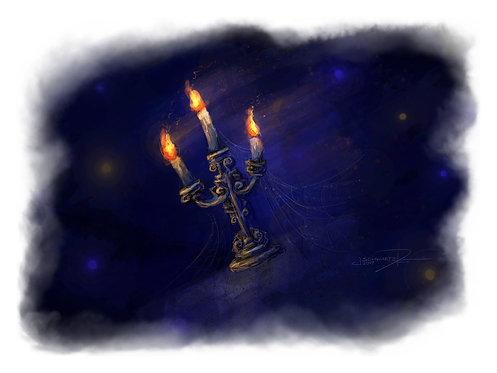 Candlelight - Giclée Art Print