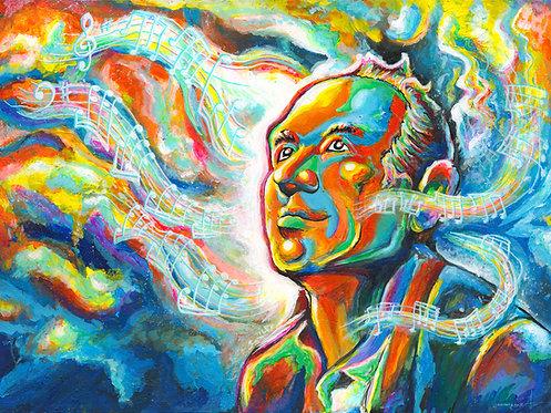 """""""The Spark"""" Hans Zimmer Tribute - Giclée Canvas Wrap Print"""