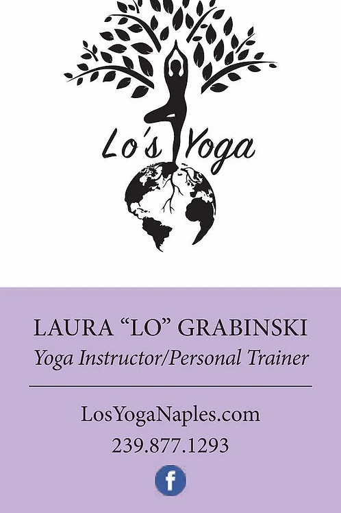 Lo's Yoga Class Card