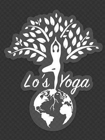 Lo's Yoga Window Decal