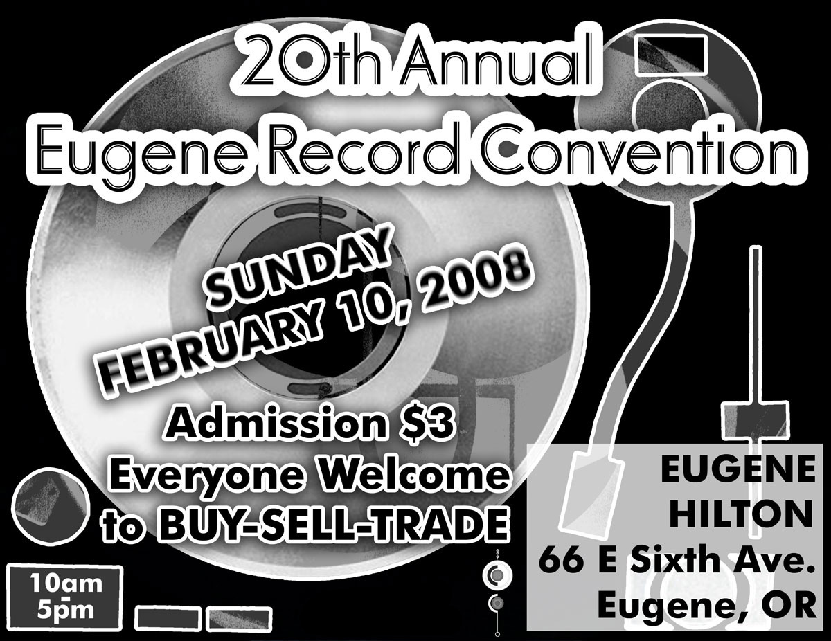 Eugene Record Convention Flyer