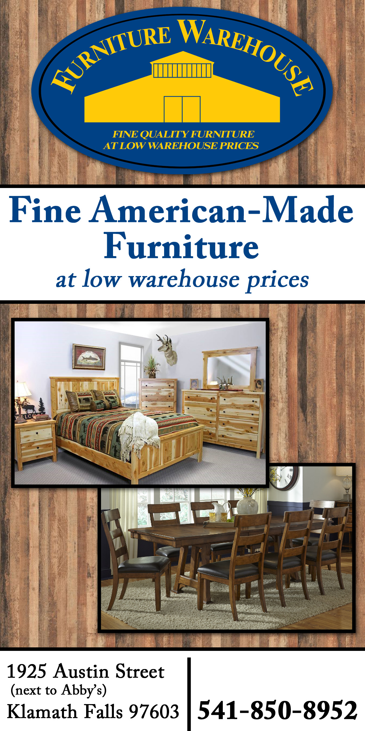 Furniture Warehouse Banner Ad
