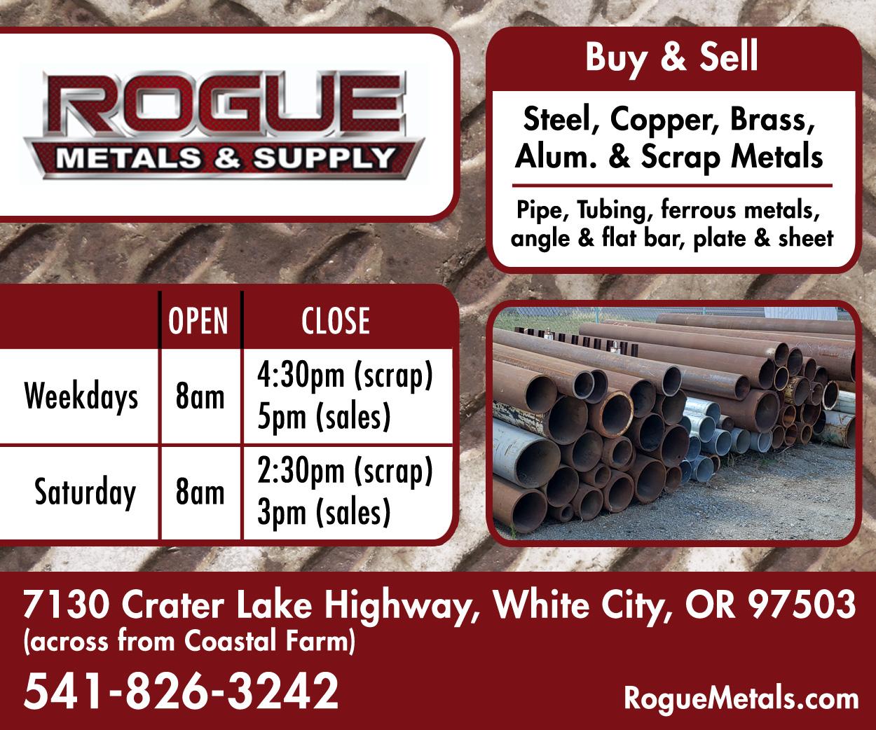 Rogue Metals Banner Ad