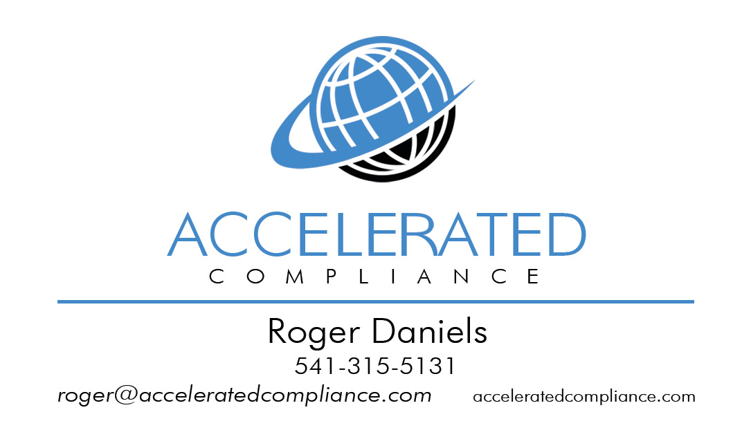 Accelerated Compliance Busines Card