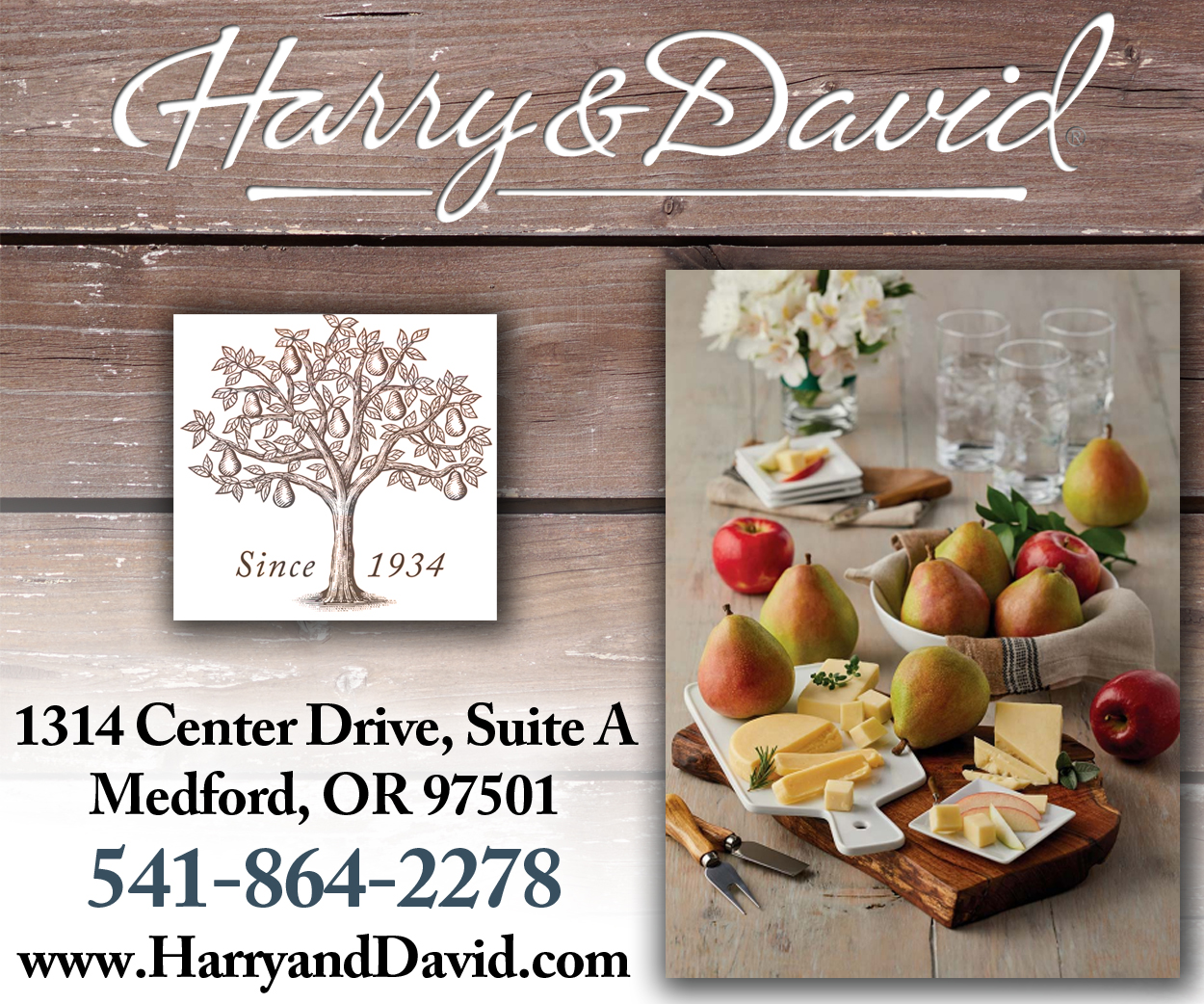 Harry & David Banner Ad
