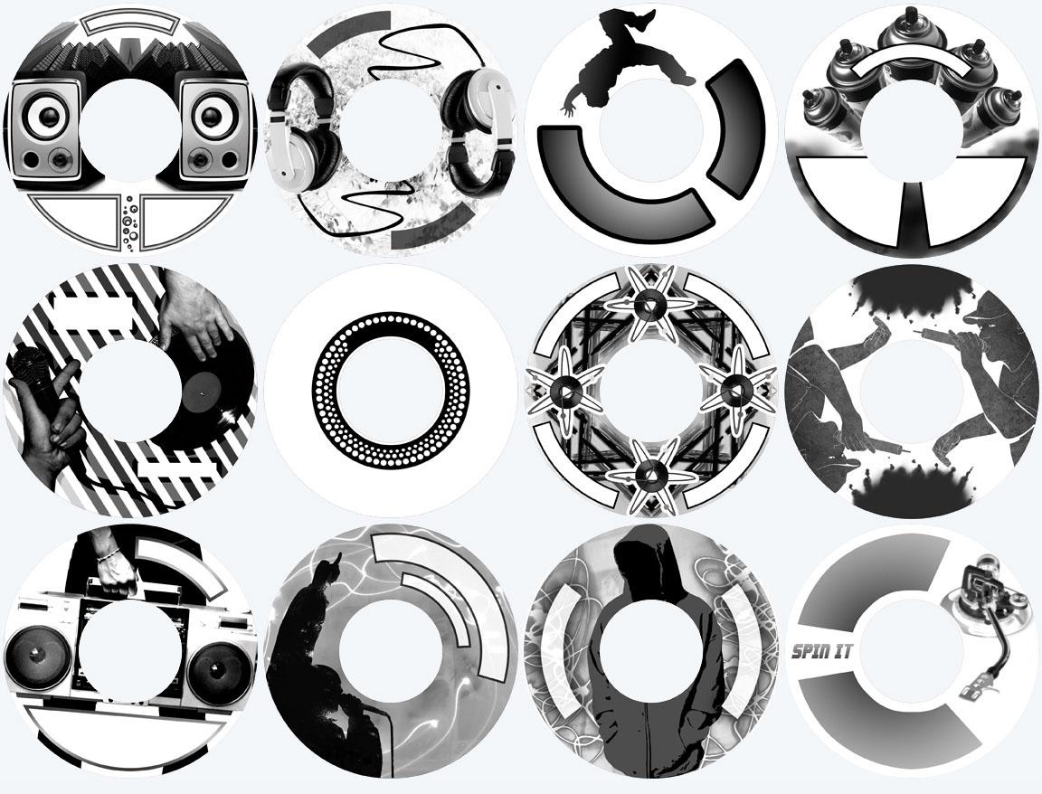 HP Lighscribe Disc Designs