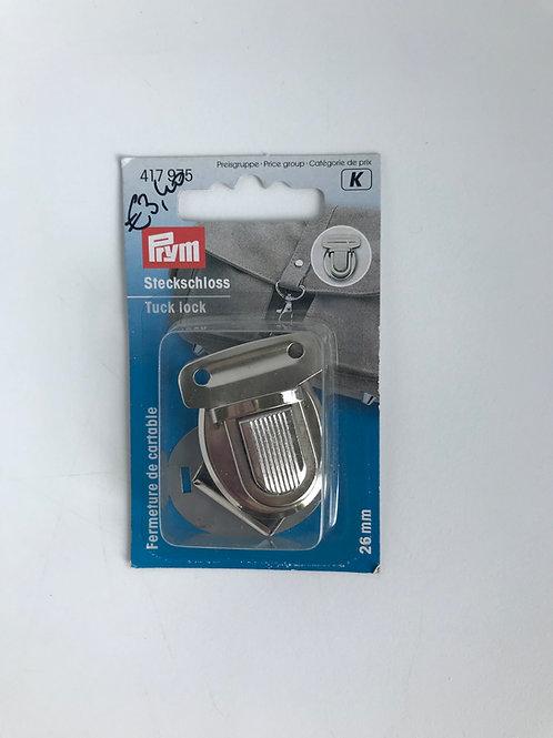 Boekentas sluiting Prym / nikkel / 26mm