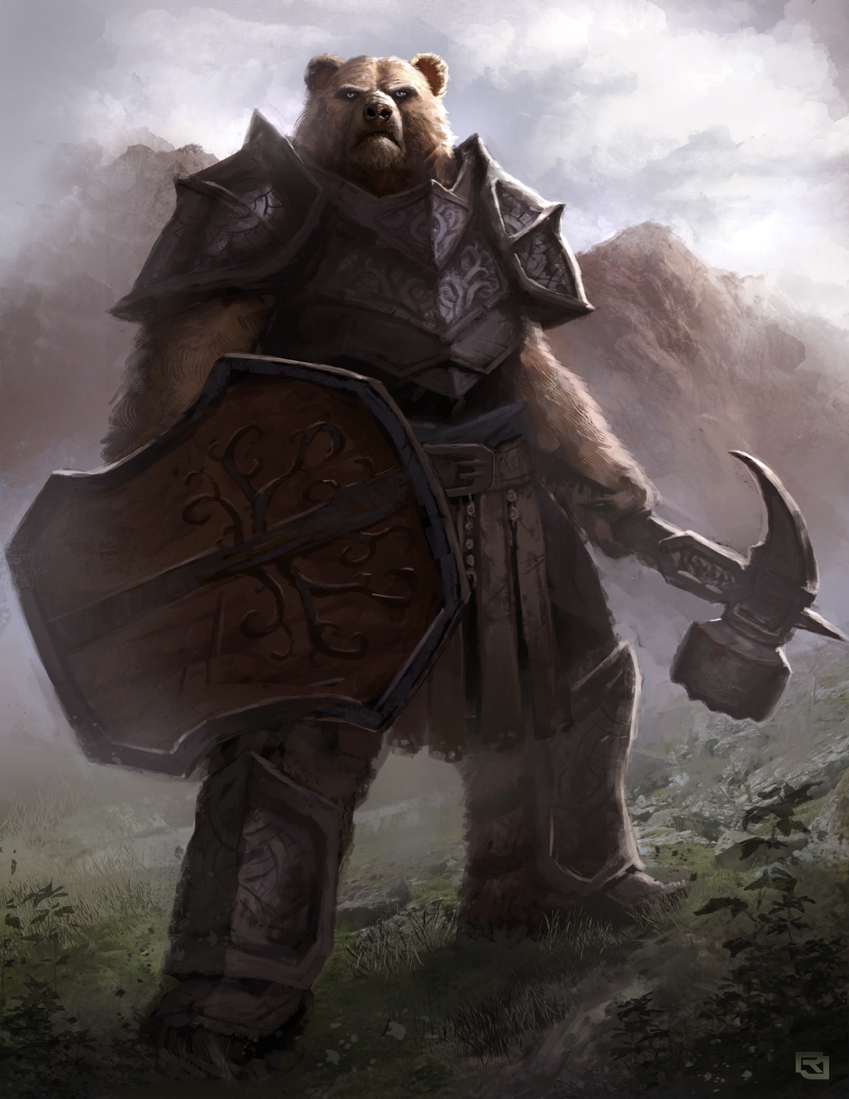 Epic Bears: Warrior Bear