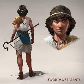 Swords and Serpents: David
