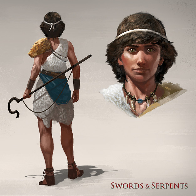 Swords and Serpents: David