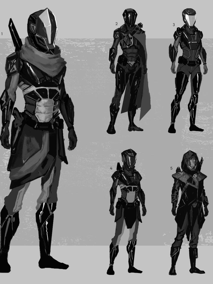 Ryzer Character Variations