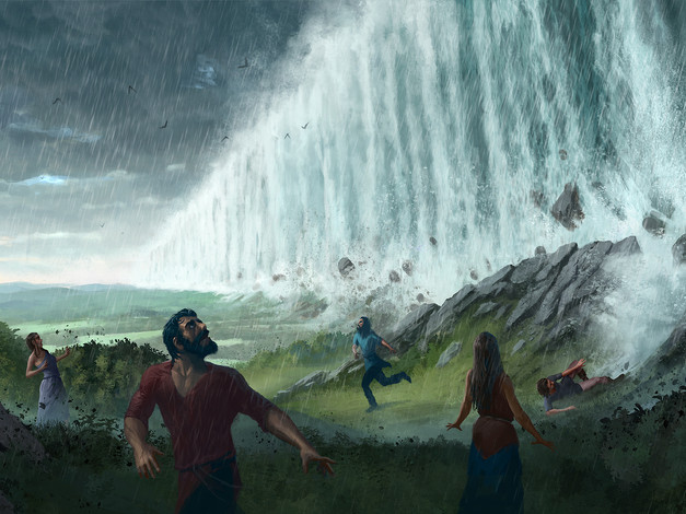 The Days of Noah: Fountains of the deep