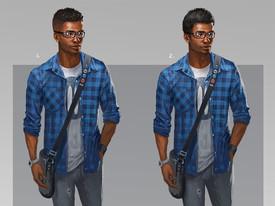Marcus Hair Variant