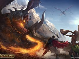 Pathfinder Unchained: Gameplay Chapter Illustration