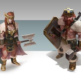 Cohorts: Dwarves