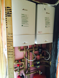 Double Boiler Install