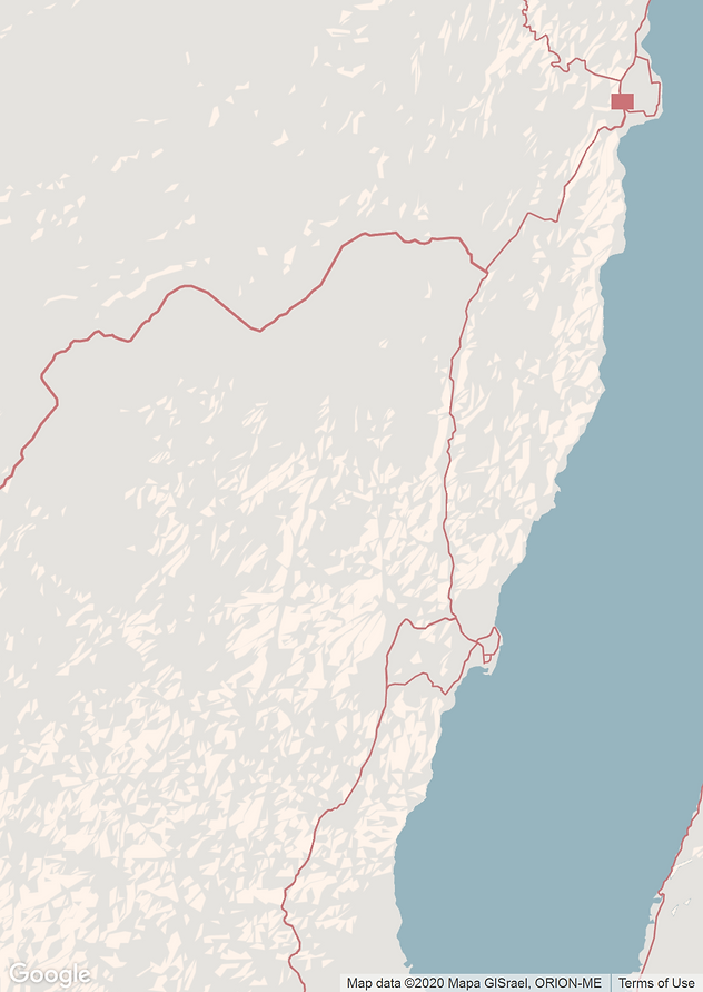 overview map of climbing areas