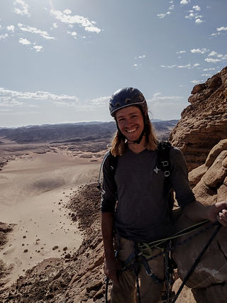 Rock Climbing Egypt