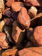 Red Onyx Rock