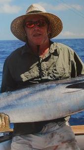 19kg Fijian Wahoo on 3kg