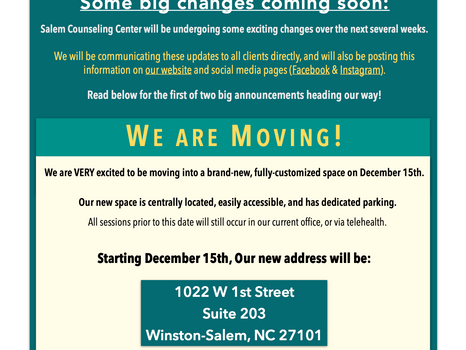 Big News (Part I)! We are Moving!!