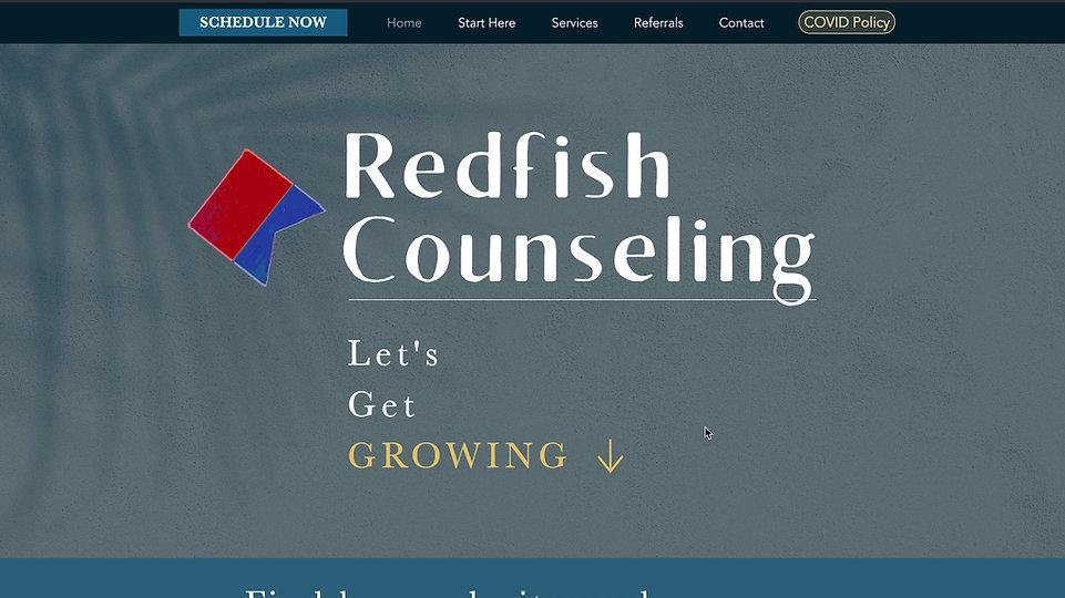 Redfish Counseling Client Portal Tour