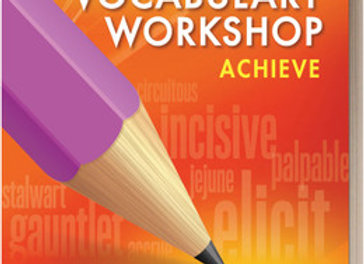 Vocabulary Workshop Achieve 11