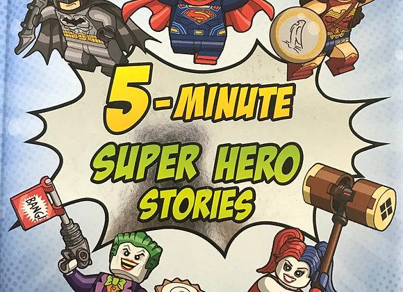 DC Comincs Super Heroes 5 Minute super hero stories