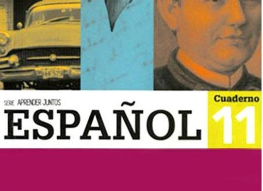 Aprender Juntos Español 11 Cuad