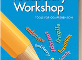 Vocabulary Workshop Blue 5 Tools for Comprehension