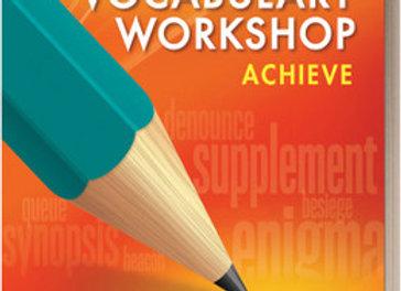 Vocabulary Workshop Achieve 6