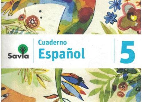 Savia Español 5 Cuad