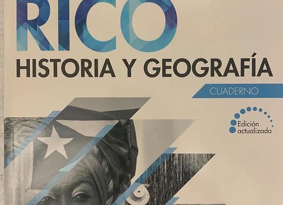 Historia y Geografía: PR Cuaderno