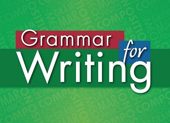 Grammar for Writing Green