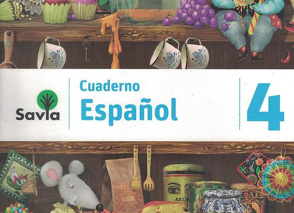 Savia Español 4 Cuad