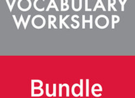 Vocabulary Workshop Level C (8) CC EE Digital Assessment Bundle