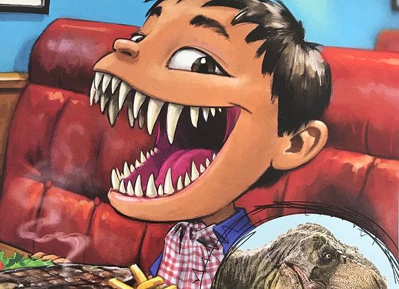 ¿Y si tuvieras dientes de tiranosaurio? y otras partes de dinosaurio