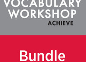 Vocabulary Workshop Achieve 12+ Digital Assessment Bundle