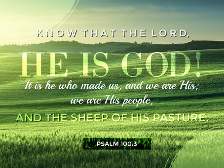 We Are God's People.