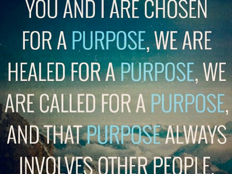 Called for His Purpose.