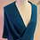 Thumbnail: Handwoven Mohair and Silk Mobius Shawl in shades of teal and greens